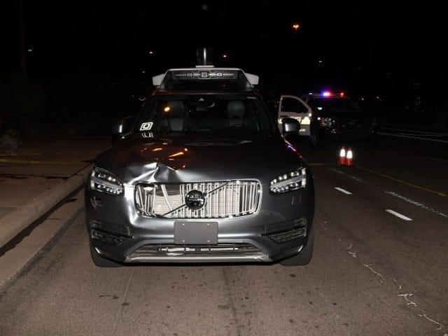 El provier del Uber que atropelló mortalmente a an mujer en Арізона