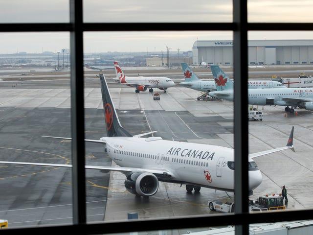 Air Canada essaie toujours de comprendre comment un passager s'est retrouvé dans l'avion garé