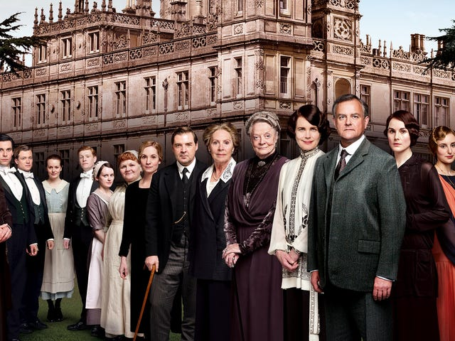 Own the Complete Downton Abbey Blu-ray for $53