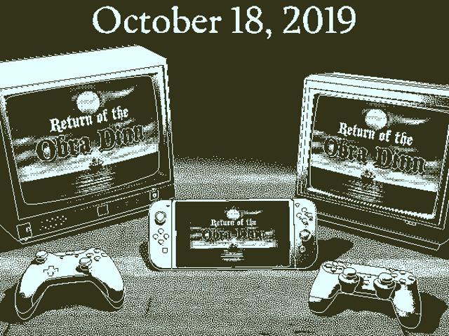 Return of the Obra Dinn sẽ ra mắt trên PS4, Xbox One và Switch vào ngày 18 tháng 10.