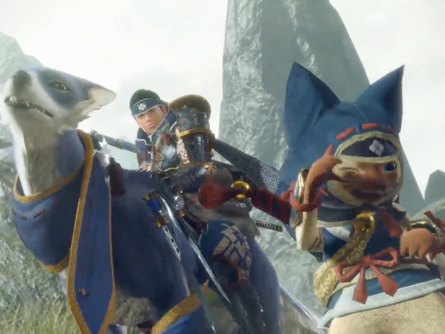 Two New Monster Hunter Games Coming To Nintendo Switch