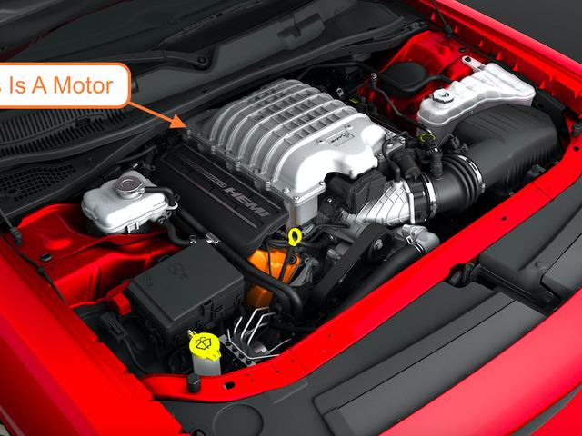 Vous pouvez appeler totalement un «moteur» un «moteur»