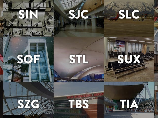 Uçan sux!  Havaalanı Kodlarımızın Arkasındaki Tuhaf Hikayeler