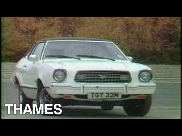 American Gas Guzzlers in 1973 England - Thames TV
