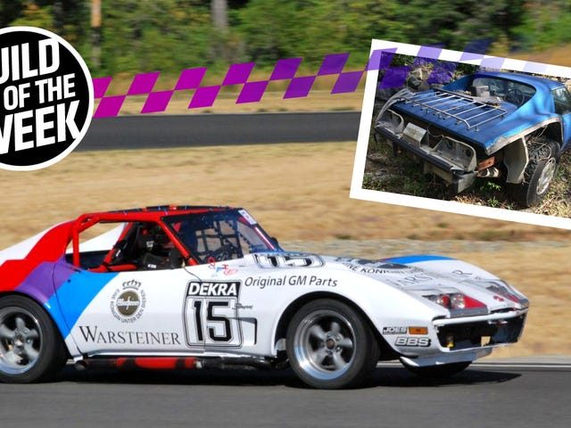 This Lifted Corvette Became A BMW-Powered Race Car For Way Cheaper Than You Think