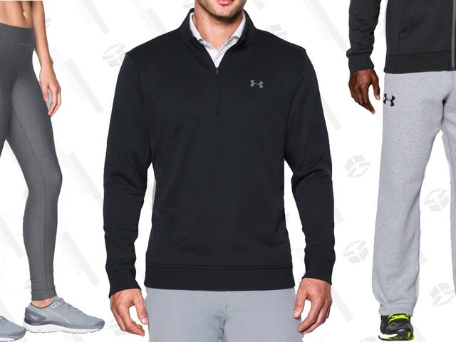 Load Up On Fall Workout Gear From Under Armour's Clearance Sale