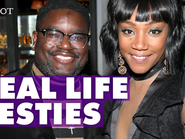 Lil' Rel Knew His Bestie Tiffany Haddish Would Have a Successful Career