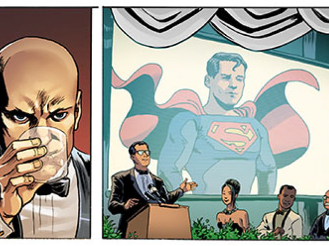 Superman and Lois Are Going to the White House Correspondents' Dinner This Week