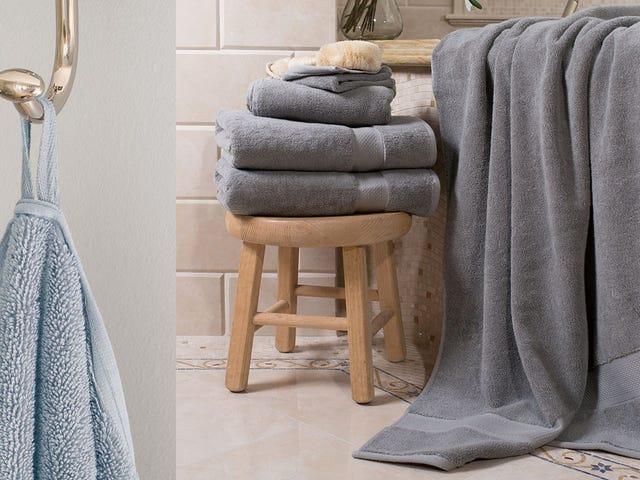 Use suas toalhas para sacar e atualize para lençóis de banho [Atualizado]