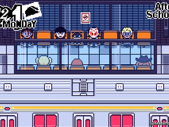 What Persona 5 Would Look Like On The Game Boy Advance