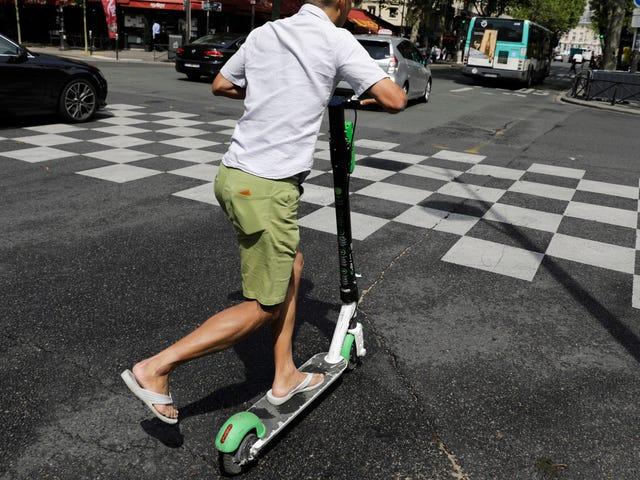 At være beruset og mindre uden hjelm er en opskrift på e-scooterkatastrofe