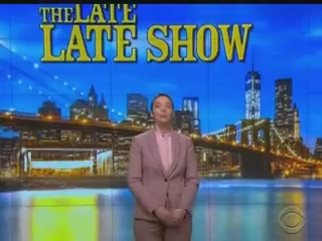 Woman Hosts Late Night Talk Show, World Continues To Turn
