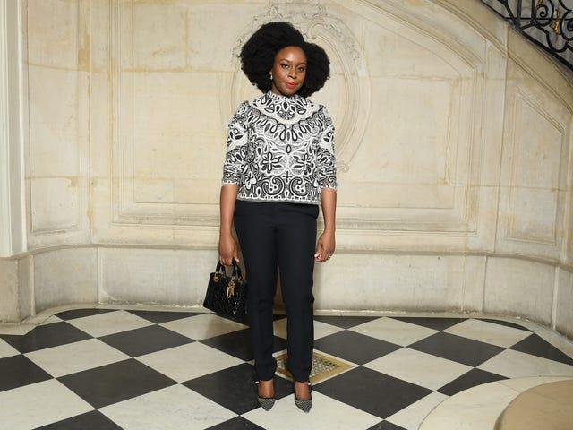'I Love Femininity': Chimamanda Ngozi Adichie Is a Fashion-Loving Feminist—Just Like Us