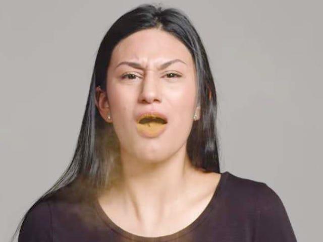 Obserwuj 100 osób, które dowiadują się, że jedzenie łyżki cynamonu jest do bani
