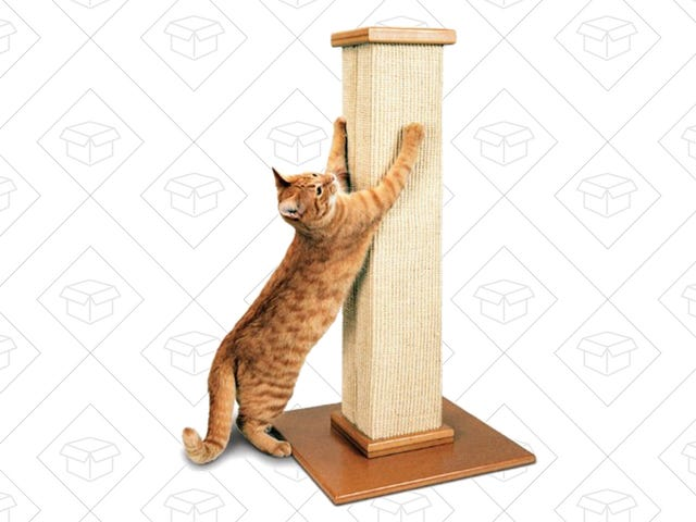 Αγοράστε την αγάπη της γάτας σας * Με το Top-Selling Scratching Post της Amazon