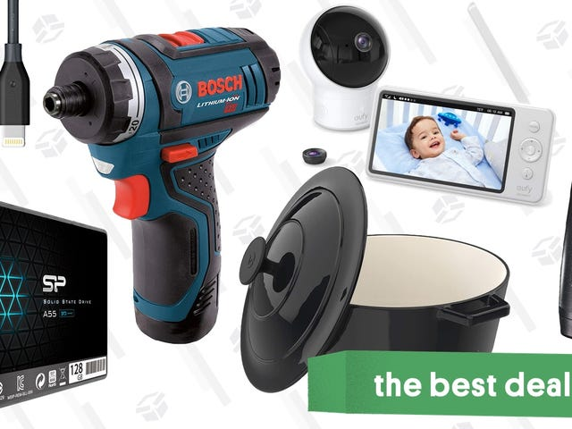 """<a href=""""https://kinjadeals.theinventory.com/tuesdays-best-deals-bosch-drill-dutch-oven-super-thi-1829462141"""" data-id="""""""" onClick=""""window.ga('send', 'event', 'Permalink page click', 'Permalink page click - post header', 'standard');"""">Tuesday's Best Deals: Bosch Drill, Dutch Oven, Super-Thin iPhone Cases, and More</a>"""