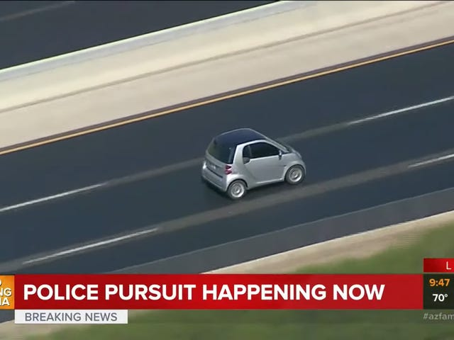 Cuộc rượt đuổi của cảnh sát là nguy hiểm và cần phải dừng lại