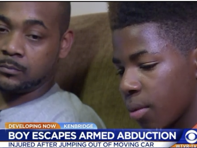 12-Year-Old Va. Boy Jumps Out of Car Moving 60 MPH to Escape Armed Abductor