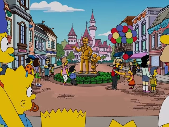 Disney celebrates its cultural dominance with supercut of times it's been referenced on The Simpsons