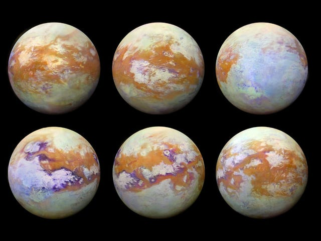 New Images Show Saturn's Moon Titan in Incredible Detail