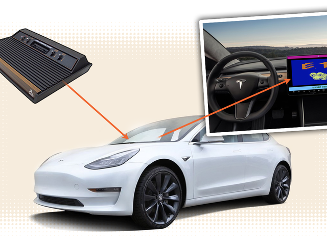 Elon Musk Has A Deal With Atari To Turn Teslas Into Game Consoles