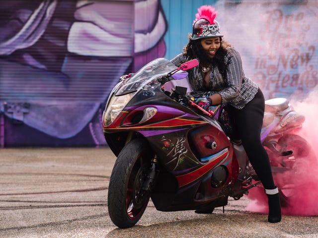 Curves Ahead: All-Female, NOLA-Based Motorcycle Club Caramel Curves Are Unexpected Tour Guides in New IGTV Show