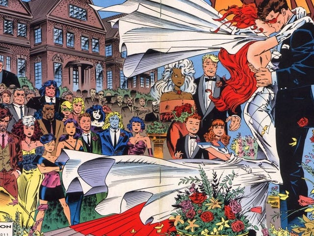 Some Other Superhero Weddings That Went Off With or Without Complications