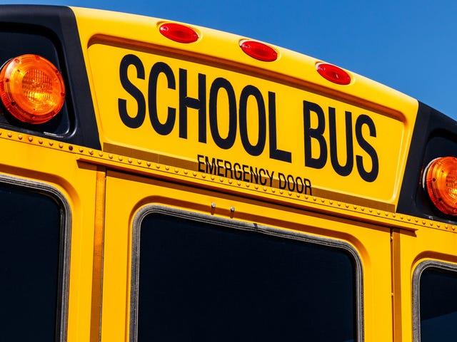 Ragazze bianche, 11 e 10 anni, arrestate in un presunto crimine d'odio in un battito di scuolabus di una ragazza nera di 10 anni