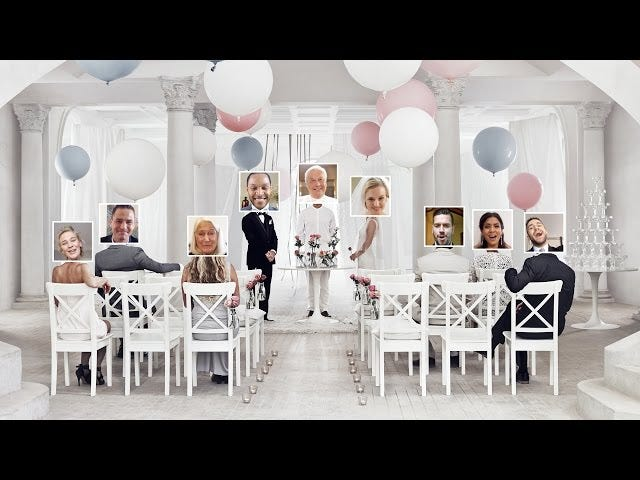 IKEA Now Offers Virtual Weddings (Some Assembly Required)