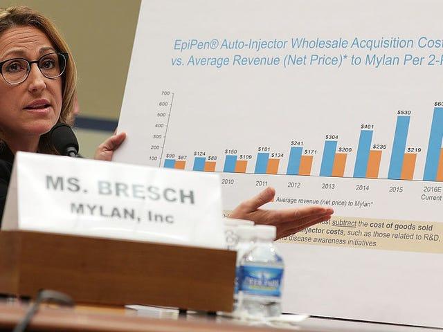 Pembuat EpiPen untuk Akhirnya Bayar $ 465 Juta untuk Ripping Off Pembayar cukai