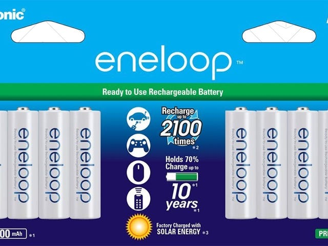 Expand Your Eneloop Battery Collection With a Pair of Great Deals