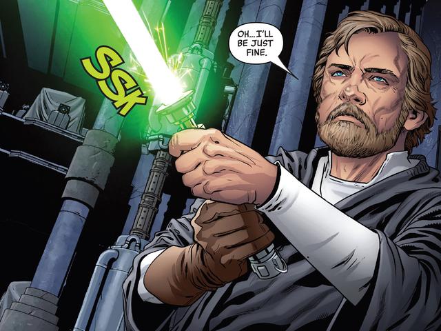Luke Skywalker'ın Efsanesi Ben Solo'nun En Büyük Hayaleti Oldu