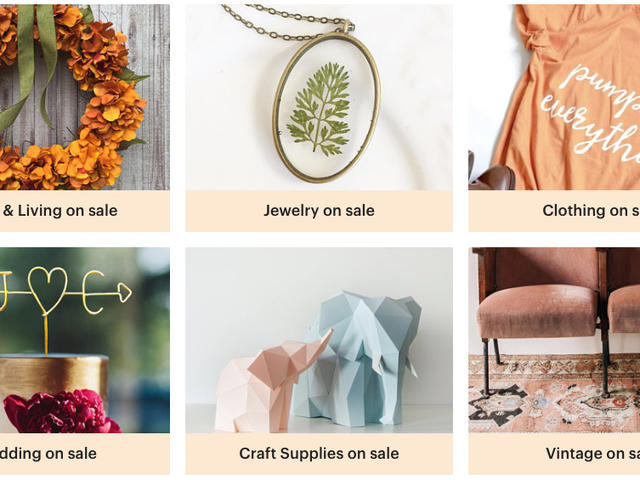 Yes, Etsy Is Having a Huge Labor Day Sale