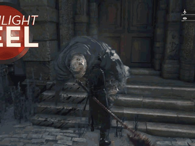 <i>Bloodborne</i>怪物很伤心你杀了他