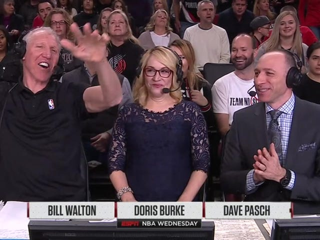 Qui ci sono due minuti di Loopy Bill Walton Quips From Last Night
