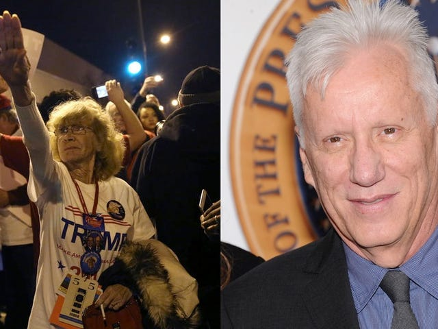 James Woods Sued For Misidentifying Trump Supporter Giving Nazi Salute on Twitter