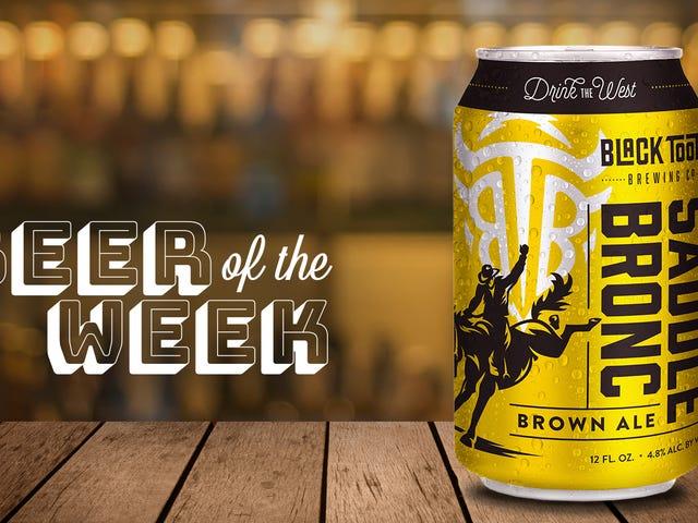 今週のビール:ブラックトゥースブリューイングのサドルブロンクは、まさに美味しいブラウンエールです