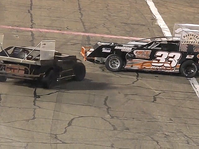 World's Most Insane Figure-Eight Racing Fight Ends With A Dude Getting Tased