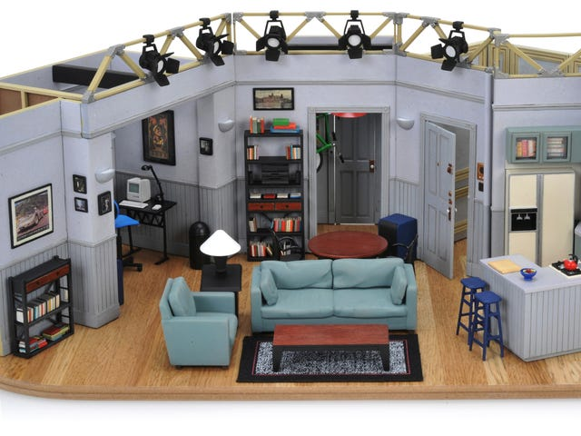 For $400 You Can Own a Flawlessly Detailed Tiny Replica of Seinfeld's Apartment