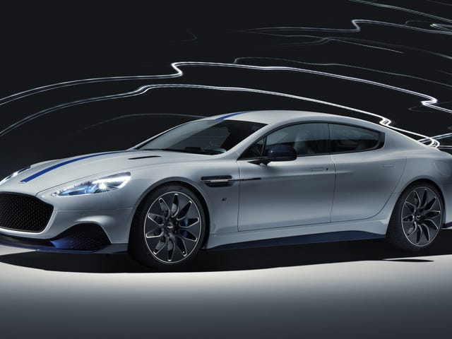 The 2020 Aston Martin Rapide E All-Electric Sedan Is Here with 600 HP