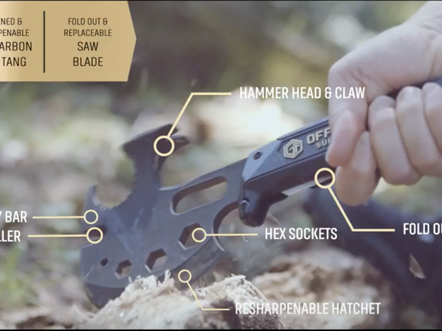 The Multitool of Axes Has Been Chopped Down to $35