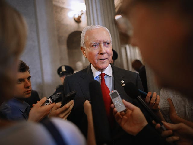 Donald Trump Would Rather Have Old-Ass Orrin Hatch Run Again Than Have Mitt Romney on the Senate: Report