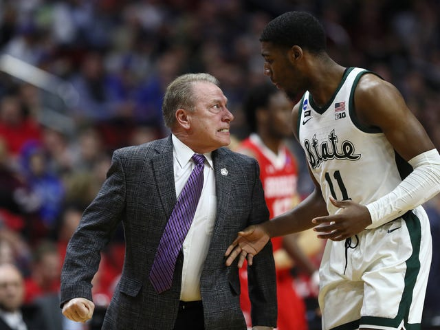 Tom Izzo Isn't Sorry For Having To Be Restrained From Going After A Freshman