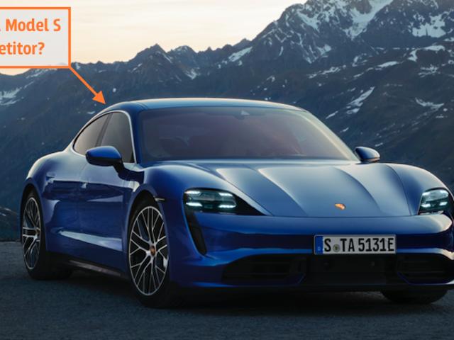 O Porsche Taycan de US $ 150.000 realmente compete com o muito mais barato Tesla Model S?
