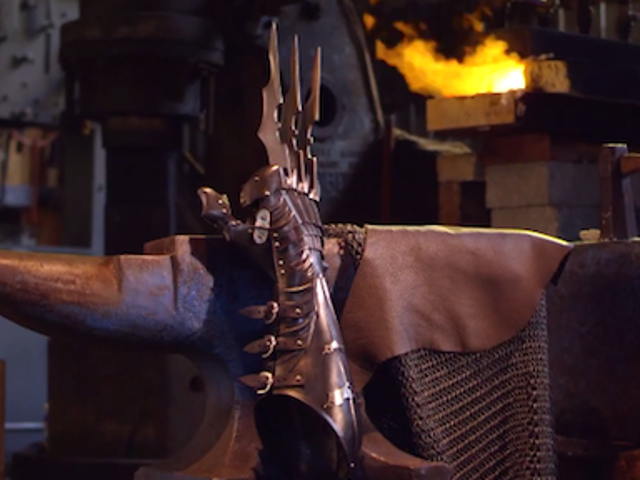 These badass Wolverine claws would be perfect for Batman's armor