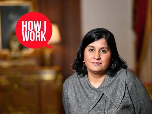 Ben Maya Ajmera, Bilim ve Toplum Derneği Genel Müdürü ve Nasıl Çalışırım?