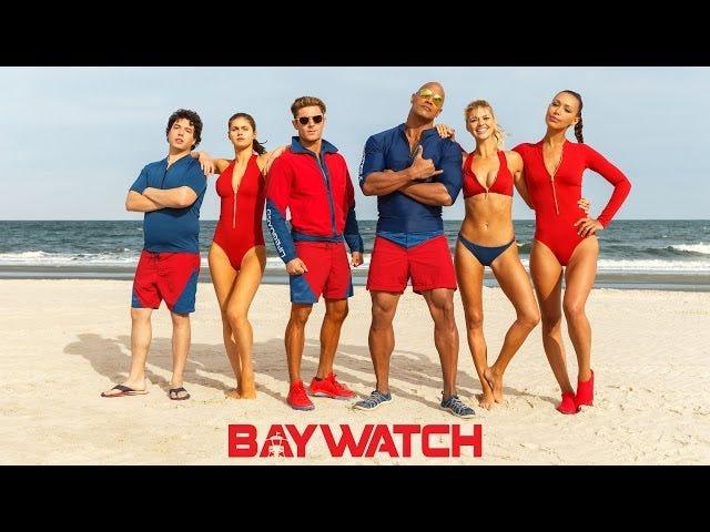 Baywatch 국제 예고편에서 모래, 서핑 및 욕설을 즐기십시오.