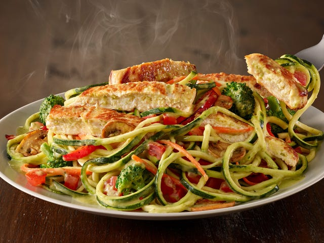 Olive Garden falls into the sweet carb-less embrace of the zoodle