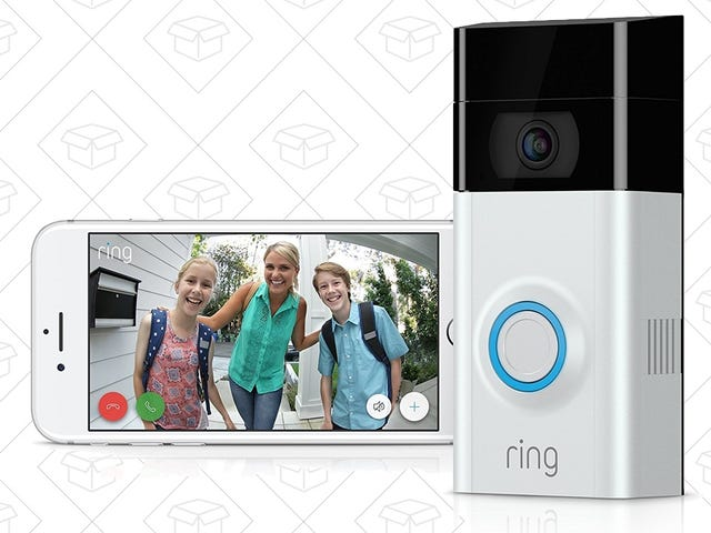 Keep An Extra Eye On Your Front Porch With The Ring Video Doorbell 2, Now $30 Off