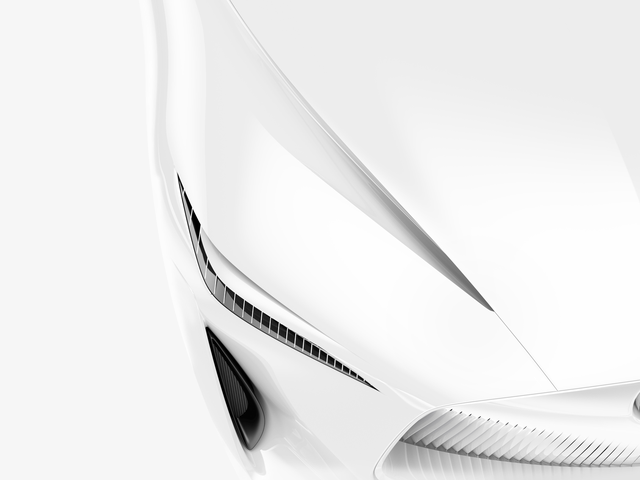 Infiniti Teases Their New Concept Car And It Looks A Bit Like A Napkin